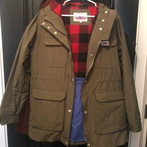 Penfield (Purchsed @ Madewell) Army Green Jacket L